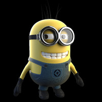 3d model minion despicable