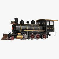3dsmax steam train locomotive 4