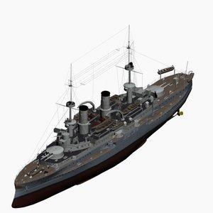 max battleship wittelsbach class imperial