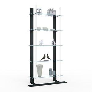 glass shelve ecart international max