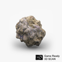 3d concrete rubble model