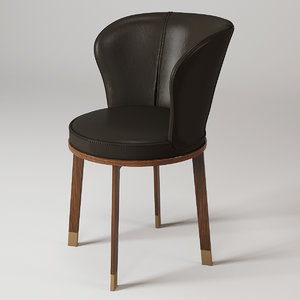 3d model giorgetti ode chair
