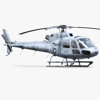 h125 military helicopter 3ds