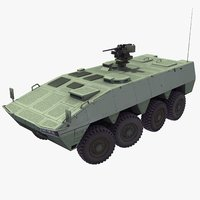 patria amv 3d model