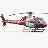 Eurocopter H125 Rescue Red