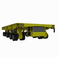 3d model - shipyard transporter 1