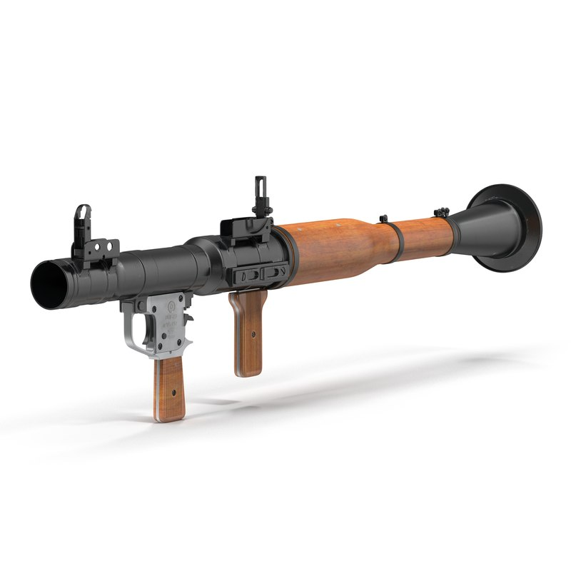 portable grenade launcher rpg-7 max