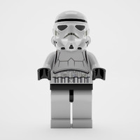 stormtrooper 3d model