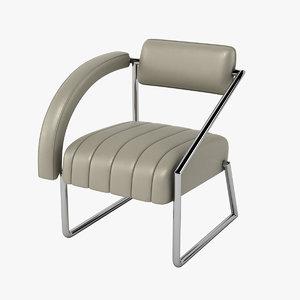 eileen gray non-conformist chair 3d model