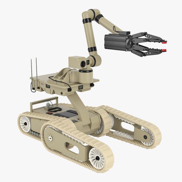 irobot robot 3d max