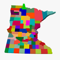 counties minnesota 3d 3ds