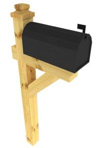 3ds max mailbox mail box