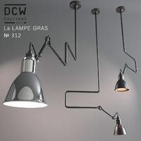 3d modern chandelier la lampe model