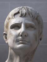 3d model bust augustus octavian