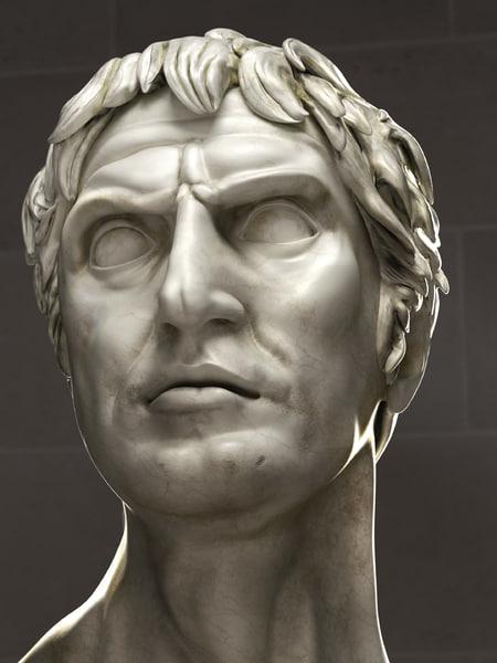 classical lucius cornelius sulla 3d model