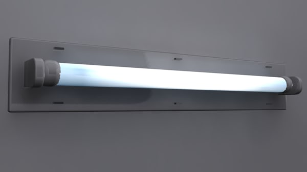 max fluorescent light fixture