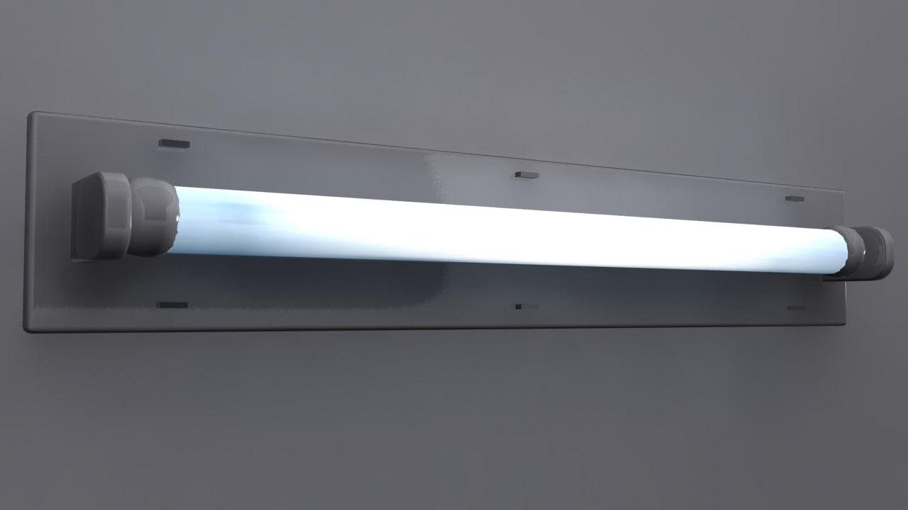 max fluorescent light fixture