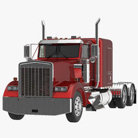 3d truck generic modeled