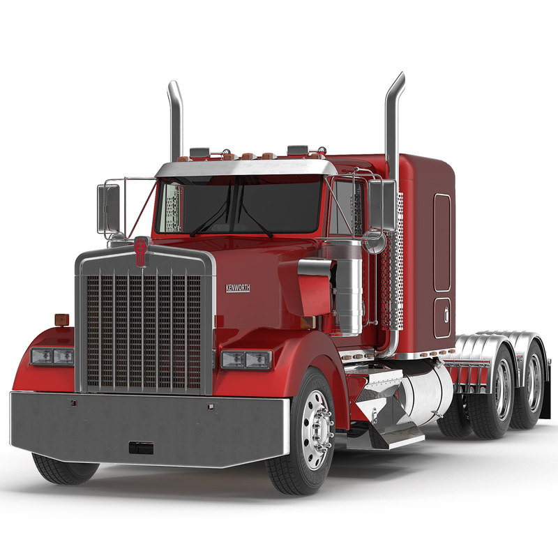 3dsmax truck w900