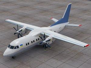 3d aircraft united model