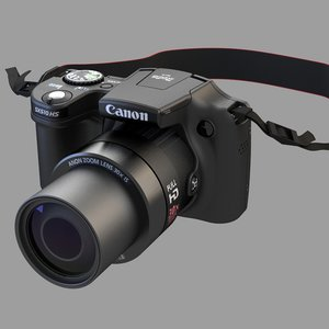camera canon powershot sx510 3ds