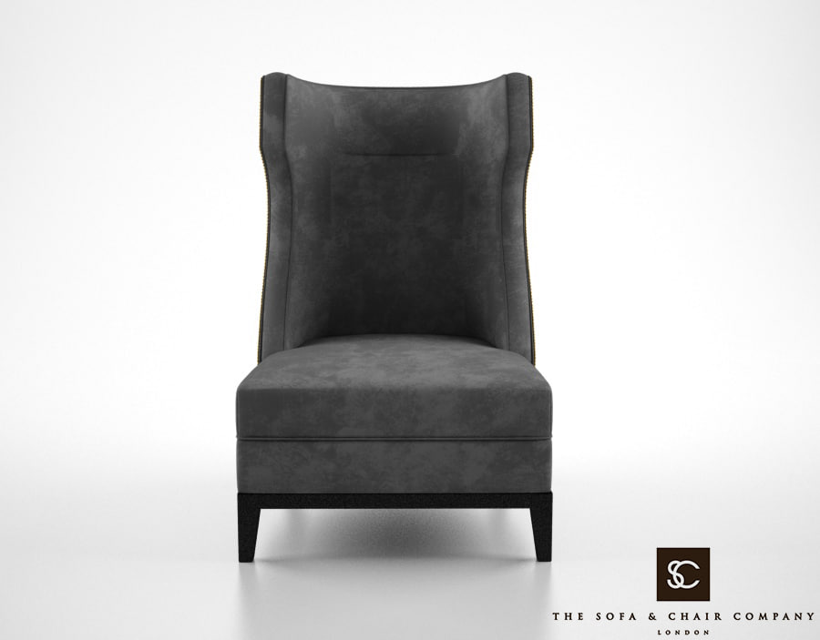 sofa chair parker armchair 3d model