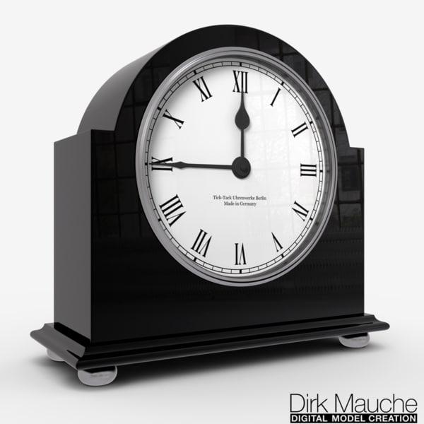 3d ma shelf clock
