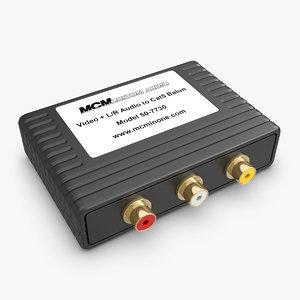 component video l r 3d 3ds