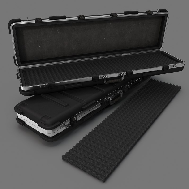 weapon case 3d max