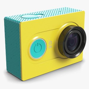 3ds max xiaomi yi action camera