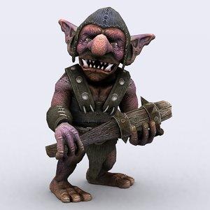 goblins warriors - 3d model