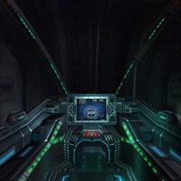 spaceship cockpit 3d 3ds
