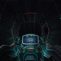 3DRT - Sci-Fi Spaceship Cockpit - 7