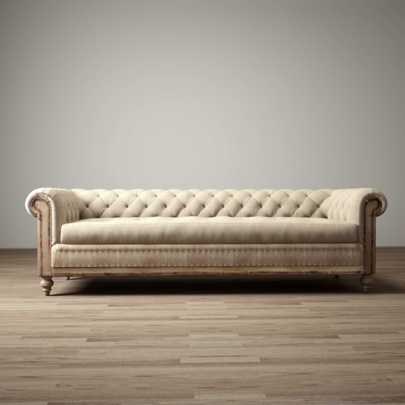 9 -deconstructed-chesterfield-upholstered-sofa 3d max