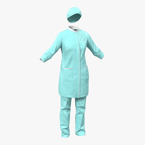 female surgeon dress 3 max