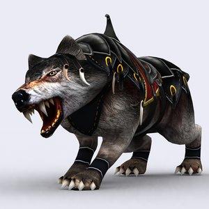 fantasy mount animal 3ds