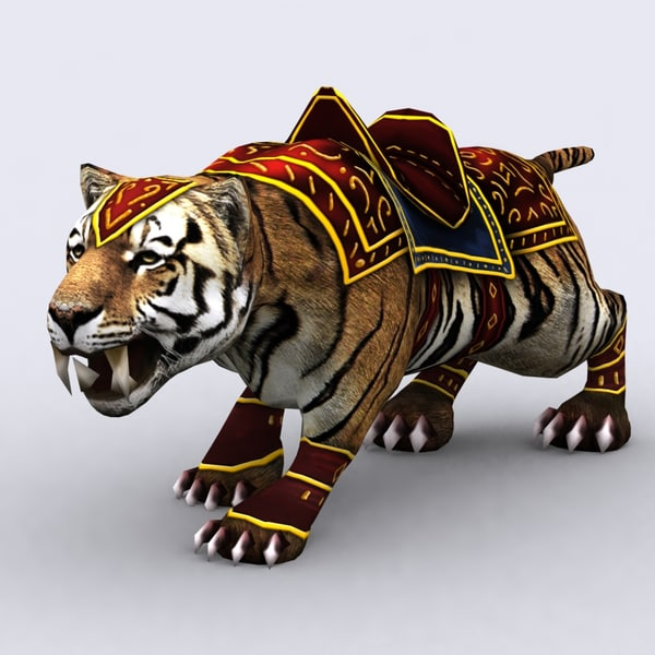 3ds max fantasy animal mount -