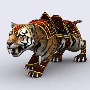 3ds max fantasy animal mount -