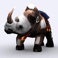 3ds fantasy animal mount -