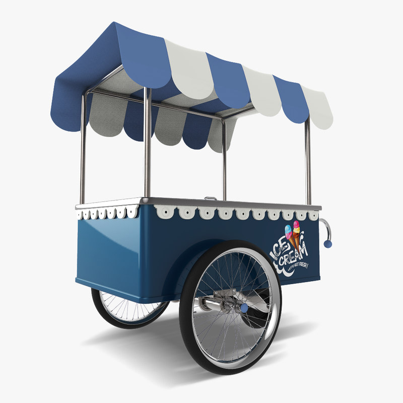 peddler ice 3d model