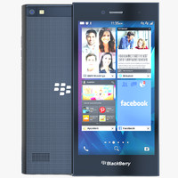 blackberry leap 3d model