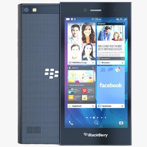 blackberry leap 3d model