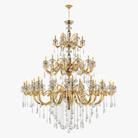 Chandelier 788542 Lusso Osgona by Lightstar