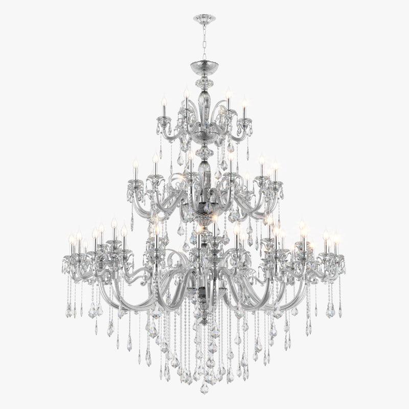 3d model chandelier 788544 lusso osgona