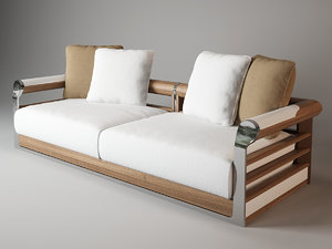 visionnaire galloway sofa 3d model