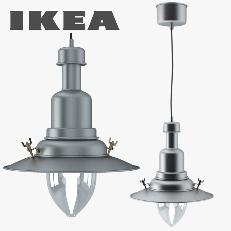 3d ottava pendant light ikea for Mobili ikea 3d