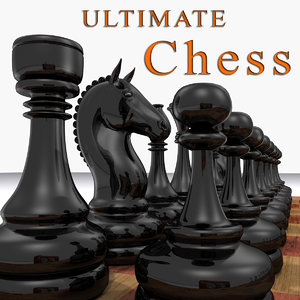 3ds max realistic chess set ultimate