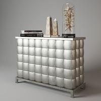 3d baker 3774 chrystobal chest model