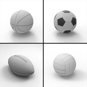 sport ball 3d max