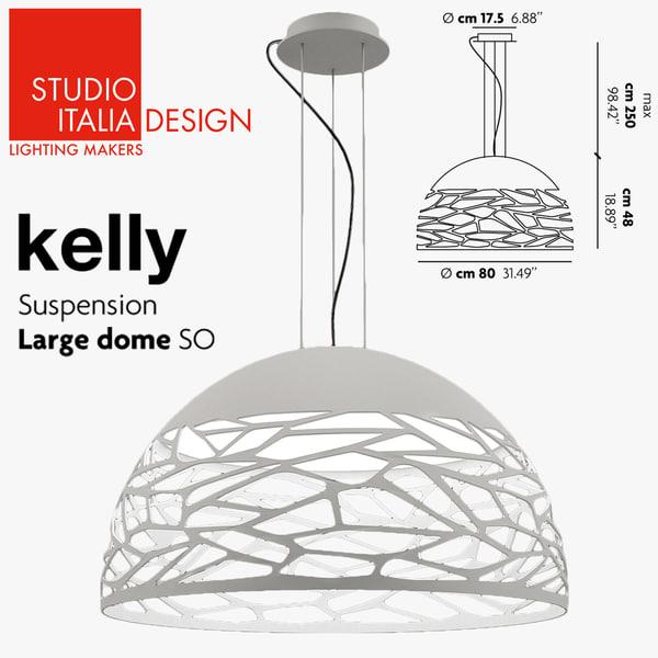3d model of studio italia design kelly